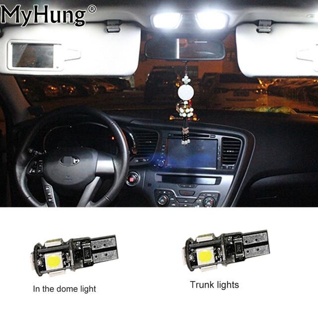 For Peugeot 206 207 Convenience Bulb Car Led Interior Light C10W W5W