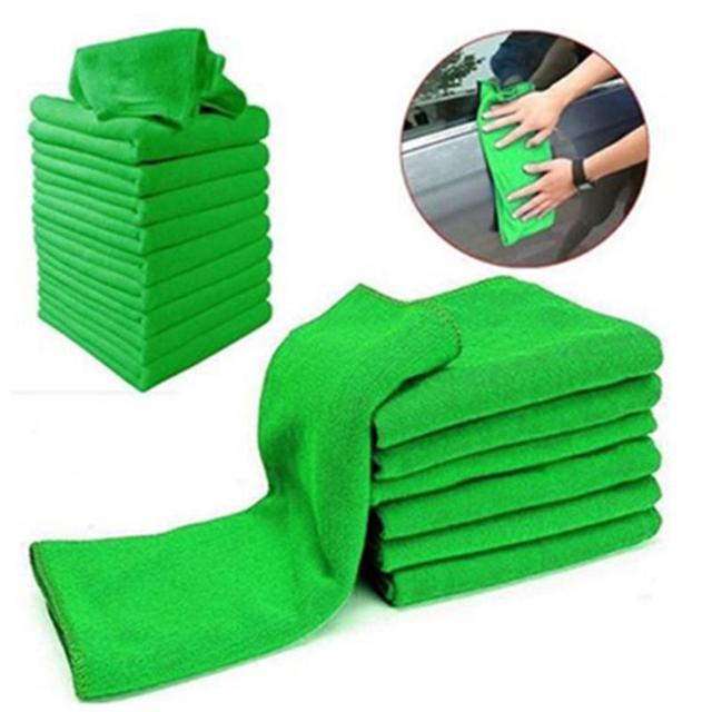 25*25 cm 5 Pz/10 Pz Piccolo Asciugamano Morbido Asciugamano In Microfibra grande