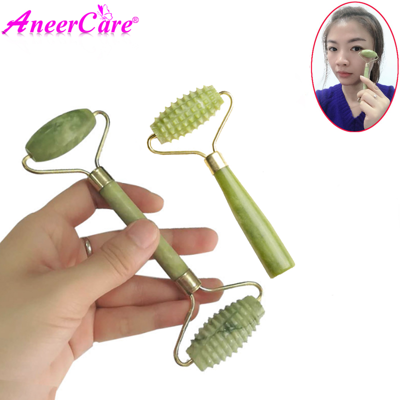 Portable Massage Roller Jade Face Face Slimming Natural Health Beauty Body Head Neck Foot Skin Care Facial Lifting Tool
