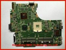 Free shipping N53SV motherboard for Asus N53SN N53SM laptop motherboard 4RAM slots Rev 2 0 2