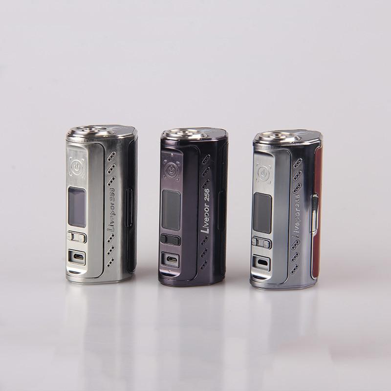 100% original Electronic cigarette Yosta Livepor 256 mod 256w vape box mods e cigarette vaporizer support mode