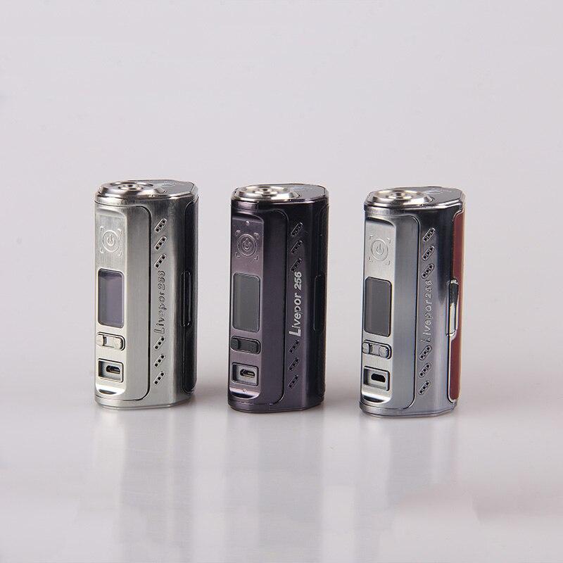 100% original cigarette électronique Yosta Livepor 256 mod 256 w vape boîte mods e cigarette vaporisateur support mode