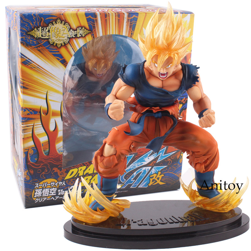 Dragon Ball Figure Super Saiyan Goku Son Gokou High Quality PVC Action Figure Model Toy Gift 26cm KT4810 воблер tsuribito super shad длина 6 см вес 6 5 г 60f 058