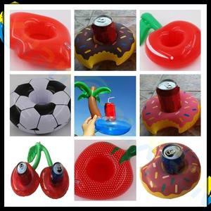 Soporte inflable de flamenco flotante para bebidas, Fiesta EN LA Piscina de fútbol en la playa, botes para bebidas, soporte para asiento de teléfono, soporte para vaso de cerveza, juguete para niños