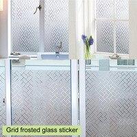 45x200 см ванная комната ПВХ Декор оконные наклейки окна Пленка Конфиденциальности водостойкие дома декоры размеры 60x200 см стекло плёнки матовый