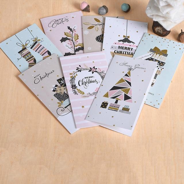 Glitter merry christmas cards creative seasons greeting cards for glitter merry christmas cards creative seasons greeting cards for business party m4hsunfo