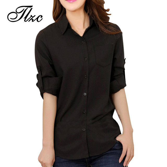 New Office Lady Fashion Career Blouses 2017 Summer OL Clothing Size S-XL  Elegant Women e70f442dfd6a