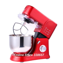 Electric 5.5L 220V 1000W home kitchen cooking food stand mixer, cake dough bread mixer machine