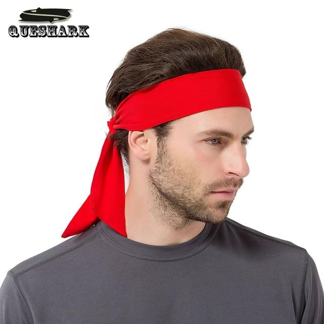 men women tennis bandana running headband gym sweatband fitness headscarf yoga hair band pirate. Black Bedroom Furniture Sets. Home Design Ideas