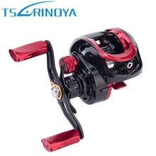 TSURINOYA XF-150 Baitcasting Fishing Reel 9+1 Bearing 6.6:1 Water Drop Wheel Magnetic Brake System Fishing Reels Bait Casting