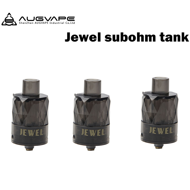 3Pcs/lot <font><b>Augvape</b></font> Jewel Subohm Tanks Mesh 0.15ohm Coil 50 to 70w Disposable Electronic Cigarette Atomizers For <font><b>VX200</b></font> image
