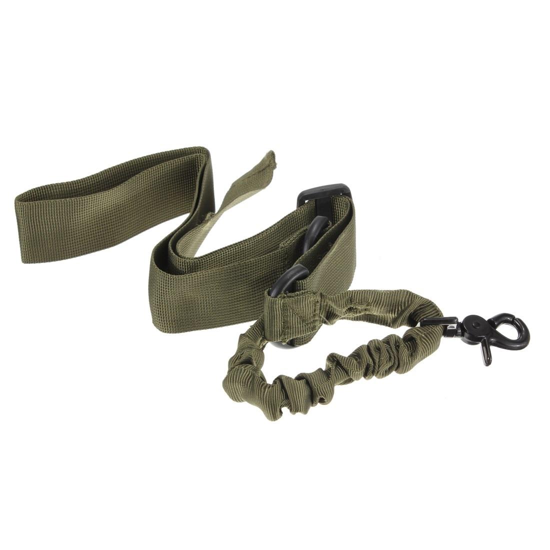 NUEVA Nylon de Múltiples funciones Ajustable Tactical single point Bungee Pistol