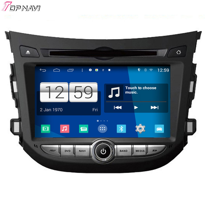 Top 7'' Quad Core S160 Android 4.4 Car DVD GPS For Hyundai HB20 With Mirror Link BT Wifi Stereo Radio Multimedia Free Shipping