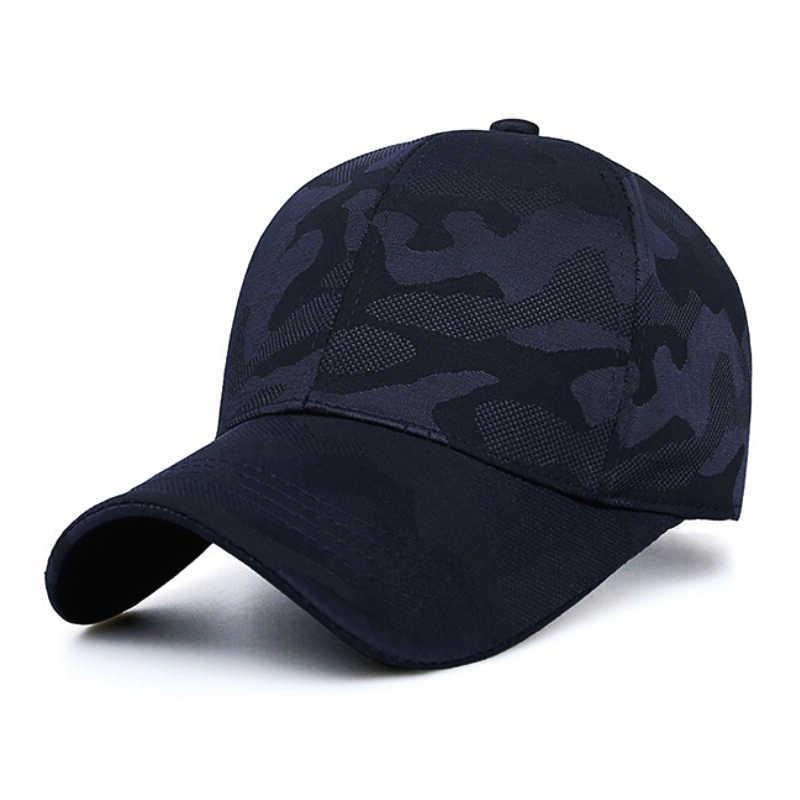 Açık beyzbol şapkası erkekler moda camo şapka tırmanma yürüyüş trekking taktik bisikletçi spor balıkçı şapkası kamuflaj kap ayarlanabilir