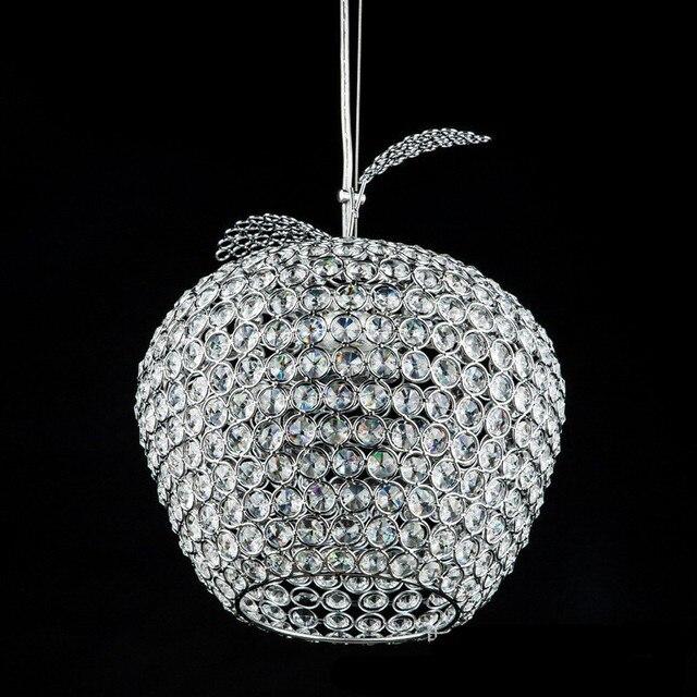 aliexpress koop moderne apple rvs led lampen crystal
