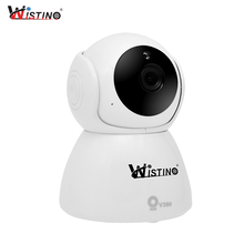 Wistino CCTV WiFi IP Camera HD 1080P Mini Wireless Video Baby Monitor P2P Indoor Security Smart Home IR Night Vision H.265 V380 giantree hd 1080p home security video recorder wifi ip camera cctv camcorder v380 mini baby monitor dvr webcam cam surveillance