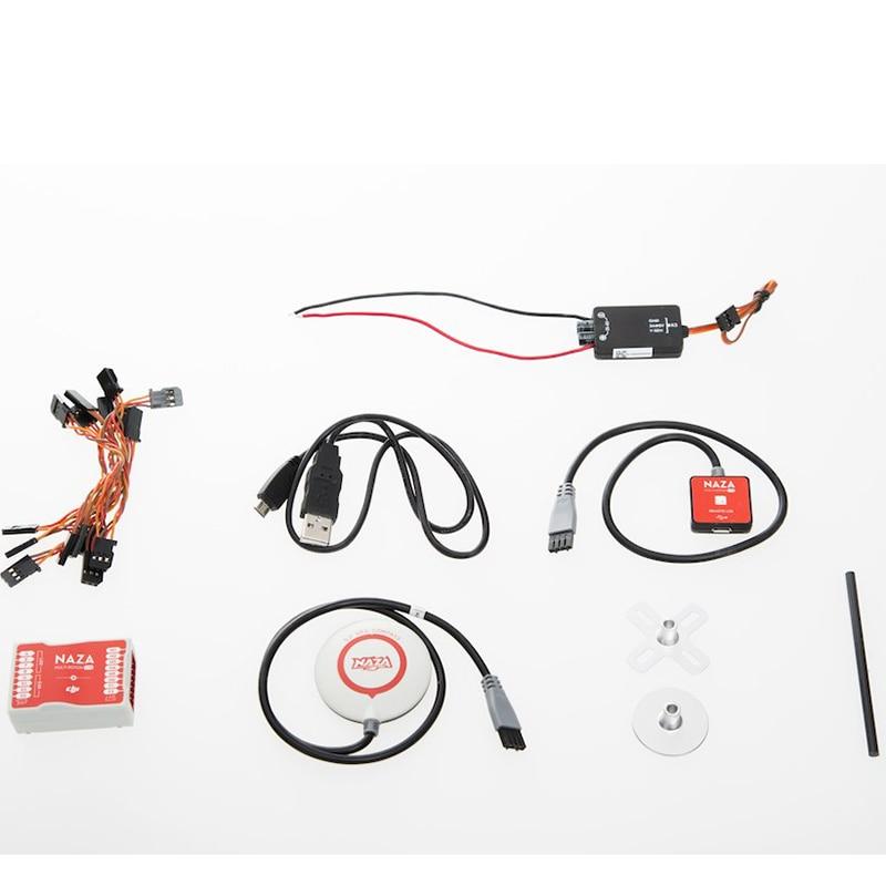 Original Naza M Lite / Naza Lite + GPS Combo Multicopter Flyer Version Flight Control Controller w/ LED/ PMU/ Cables