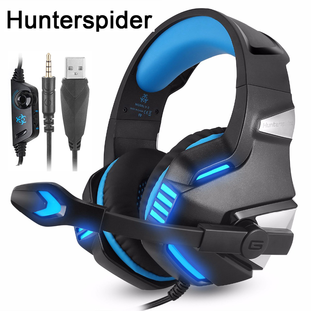 Each G2600 Stereo Bass Surround Gaming Headset for PS4 Xbox One Laptop PC Switch