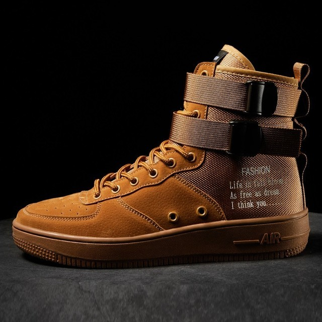 Fashion High Top Hip Hop Boots 4