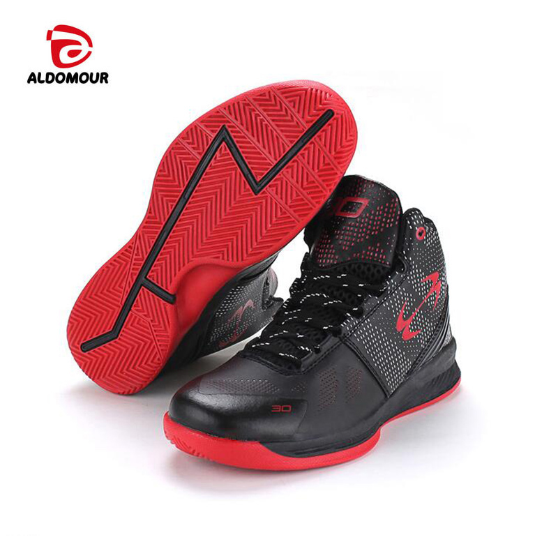 ALDOMOUR Newest Basketball Shoes 2018 Men Women Ankle Boots Anti-slip  outdoor Sport Sneakers Plus Size EU 36-45 Free Shipping 20cb29877