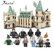 [Hot] 1033pcs Movie Series Hogwarts legoingly castle Building Blocks Bricks Kits Compatible With legoingly castle