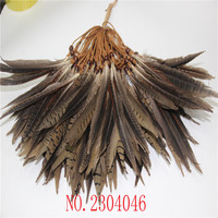 Wholesale 20 natural mountain cocks tail 15 20CM (6 8 inch) made of feather head buckle DIY decoration
