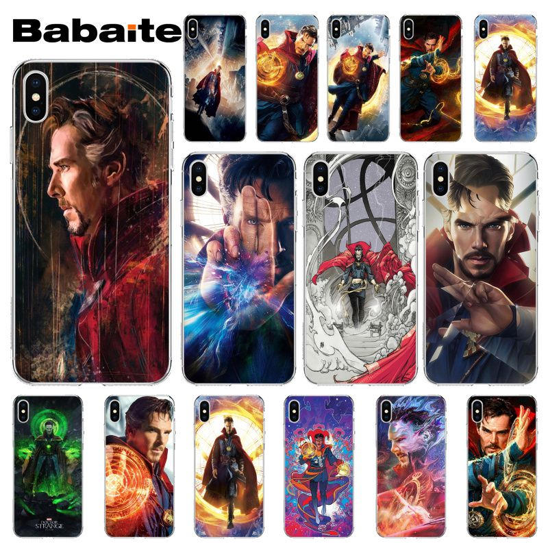 Phone Bags & Cases Charitable Babaite Dr Marvel Comics Doctor Strange Drawing Phone Case Cover Shell For Apple Iphone 8 7 6 6s Plus X Xs Max 5 5s Se Xr Cover Half-wrapped Case
