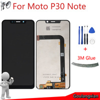 6.2 AAA quality LCD For Motorola One Power P30 Note LCD Display Touch Screen Digitizer Assembly For Moto P30 Note XT1942 Lcds
