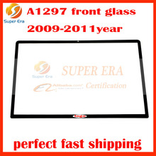 5Pcs/lot Original Used A+ front LCD Display Front Glass Panel for Macbook Pro 17″ Unibody A1297 MB604 MC226 MC024 2009-2011 Year