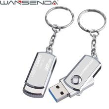 Нержавеющаясталь USB 3.0 Флеш накопитель 4 ГБ 8 ГБ 16 ГБ карту флэш-памяти с интерфейсом USB 32 ГБ 64 ГБ pendrive usb флеш-диск с брелок ThumbDrive