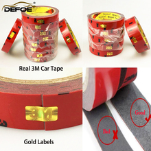car-styling Top Sale Strong Double-sided car motorcycle Tape size  0.6/0.8/1/1.2/1.5/2/3cm Chose Long 3 Meter good quality