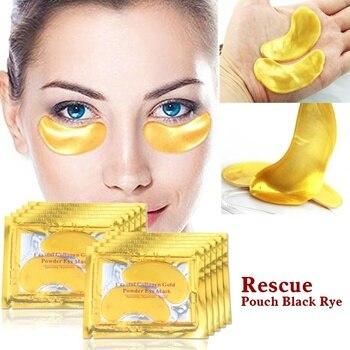 1/5/10 Pairs Collagen Eye Mask Crystal Eye Mask Anti-Aging Puffiness Remove Dark Circle Moisturizing Crystal Eye Care TSLM1