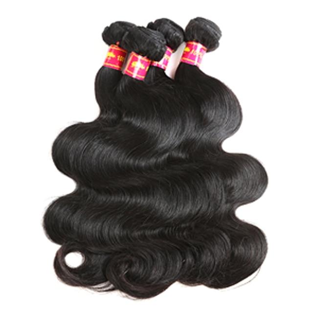 Ali Queen brazylijski dziewiczy włosy ciało fala wiązki ludzkich włosów z 4x4 HD przezroczyste zamknięcie koronki przodu wolna część Natural Color