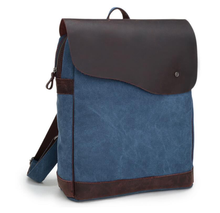 Backpack Vintage Canvas Backpack School Bag  Travel Bags Large Travel Laptop GET0033