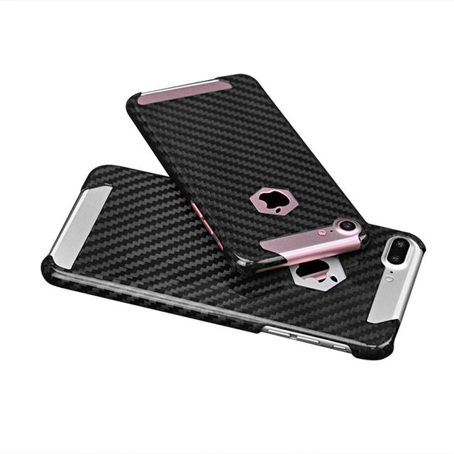 Real Carbon Fiber Phone Case for iPhone 7 8 7 Plus 8 Plus