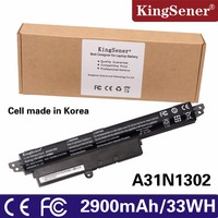 KingSener Laptop Battery A31N1302 A31LM9H For Asus VIVOBOOK X200CA X200MA F200CA A31LMH2 A31LM9H 1566 6868