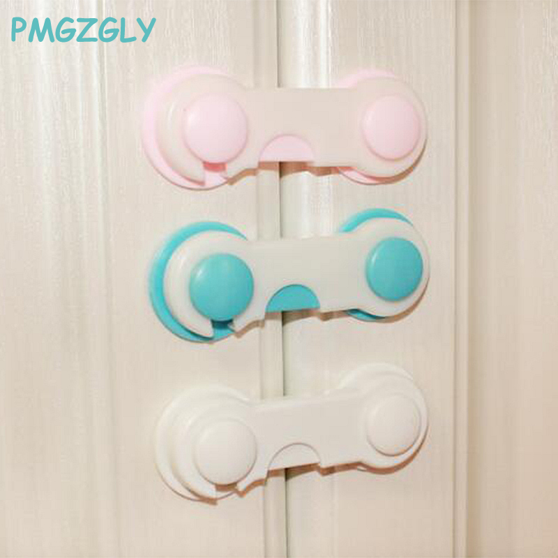 4 PC Cabinet Lock Drawer Cupboard Refrigerator Door Desk Plastic Locks Protection from Children Baby Child Safety Lock Saftey 2pcs toddler baby safety lock kids drawer cupboard fridge cabinet door lock plastic cabinet locks baby security lock new arrival
