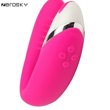Zerosky Adult Couple Vibrator Sex Toys  Waterproof G Spot Vibe Clit Massager USB Rechargeable for Men Women