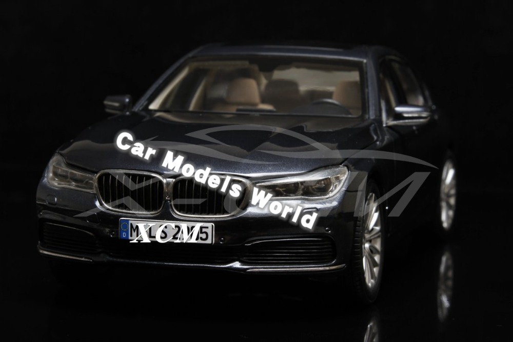 Diecast Car Model for All New 7 Series 750 Li 2017 1 18 Grey SMALL GIFT