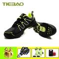 TIEBAO sapatilha ciclismo mtb leisure fietsen schoenen chaussures vtt homme 2019 mannen vrouwen zelfsluitende ademend spd pedalen schoenen