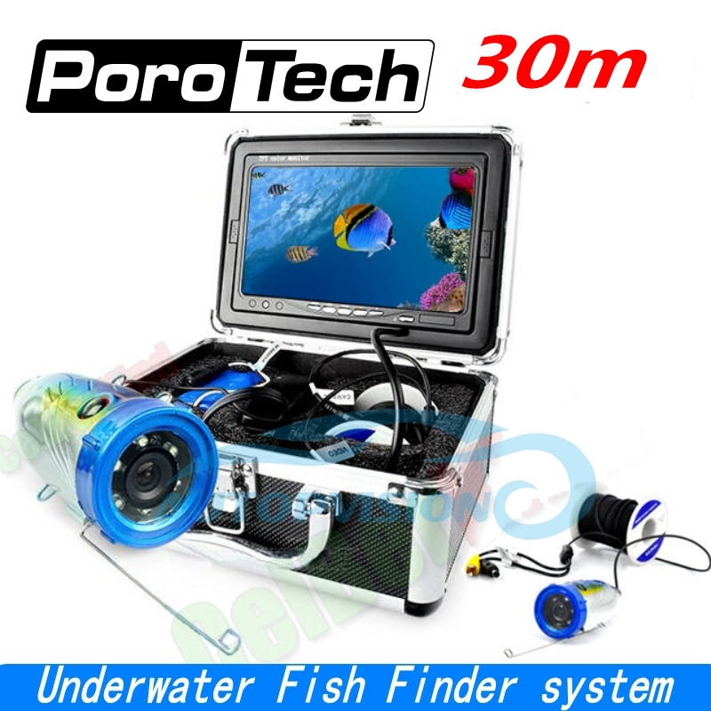 SY700 30m cable 7 Color LCD Fish Finder HD 1000TVL Waterproof Video Underwater Camera Professional Underwater