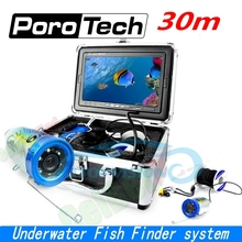 SY700 30m cable 7″ Color LCD  Fish Finder HD 1000TVL Waterproof Video Underwater Camera Professional Underwater Fishing camera