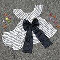 Nuevo estilo mameluco del bebé vestido con pantalones cortos de verano boutique ropa de Bebé mamelucos de la Burbuja diseño de la tira tira