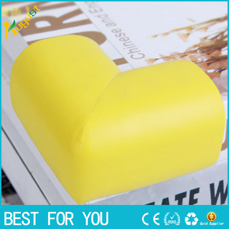 5pcs/lot 60*60*12mm Soft Baby Safe Corner Protector Baby Kids Table Desk Corner Guard Children Safety Edge Guards