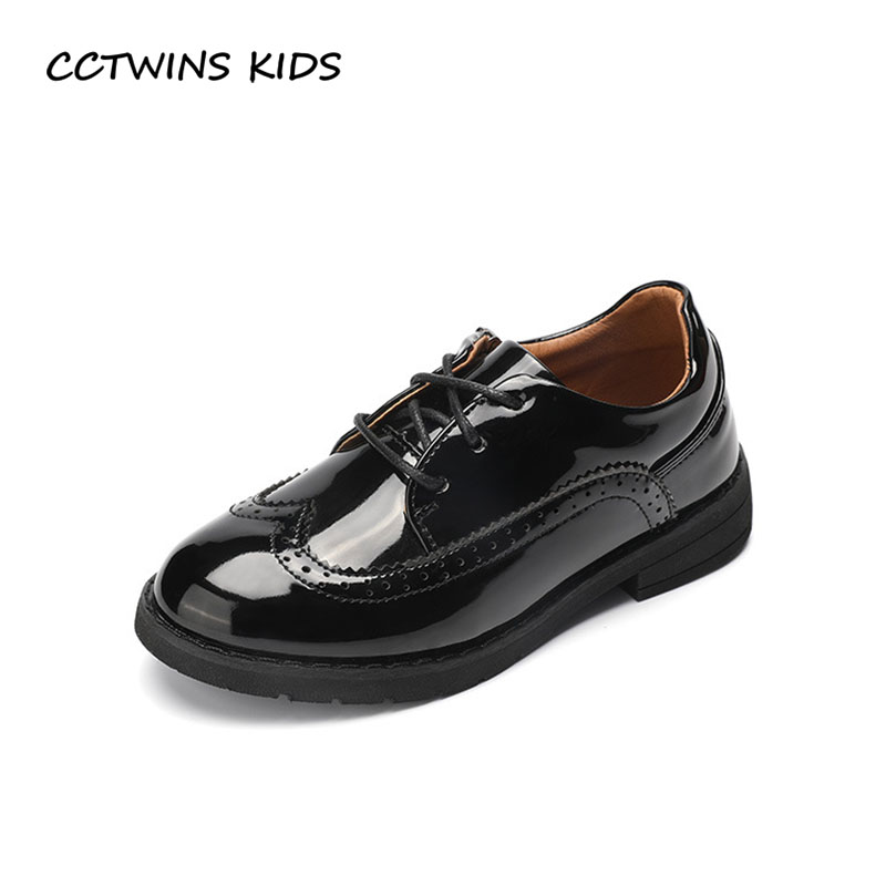 35c60b8e5b1 Detail Feedback Questions about CCTWINS KIDS 2018 Spring Children Pu  Leather Lace Up Baby Boy Fashion Oxford Toddler Brand Black Casual Shoe Girl  GX1943 on ...