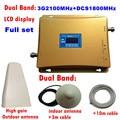 HEIßER VERKAUF 3g 4g Cellular Signal Repeater DCS 1800 3g UMTS 2100 Dual Band Handy Verstärker DCS 1800 mhz 2100 mhz 20dBm Booster