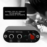 1set High Quality Mini Professional Motor Power Supply For Rotary Tattoo Machine Gun Tool New