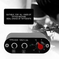 1set High Quality Mini Professional Motor Power Supply For Rotary Tattoo Machine Gun Tool New