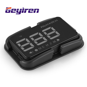 Image 5 - GEYIREN A5 GPS HUD 3.5 inch Car Head Up Display Windshield Projector Overspeed digital speedometer gps 2 Displays Mode hud 2017