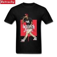 Latest Style Kendrick Lamar Shirts Men Luxury Brand Design Rapper Singer T Shirt Short Sleeve Guys